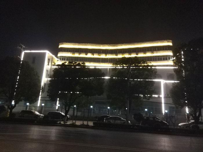 亮化工程--浠水县人民银行