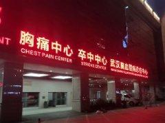 <font color='red'><font color='red'>发光</font>字</font>制作--武汉第一医院